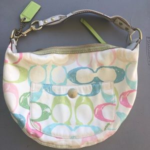 Coach • multicolored Hobo Bag